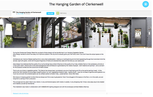 The Hanging Garden on Archello
