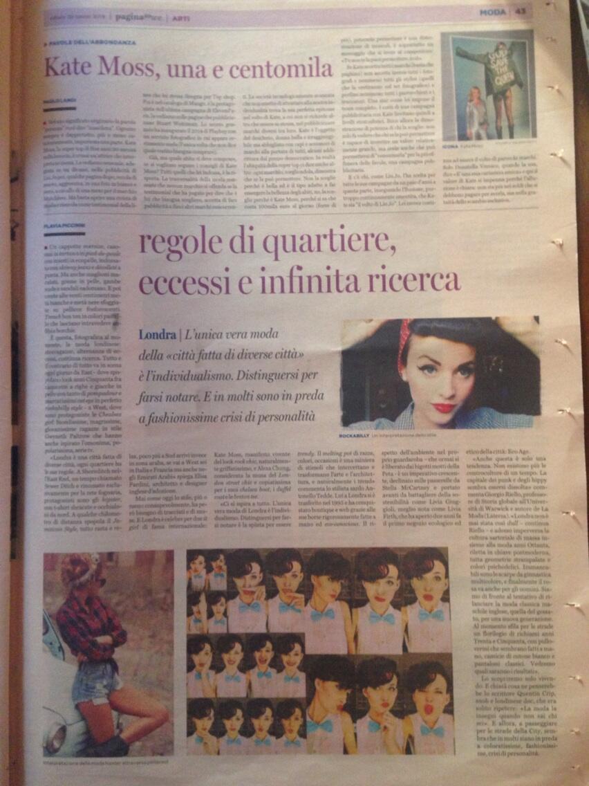 Elisa Pardini on Pagina99