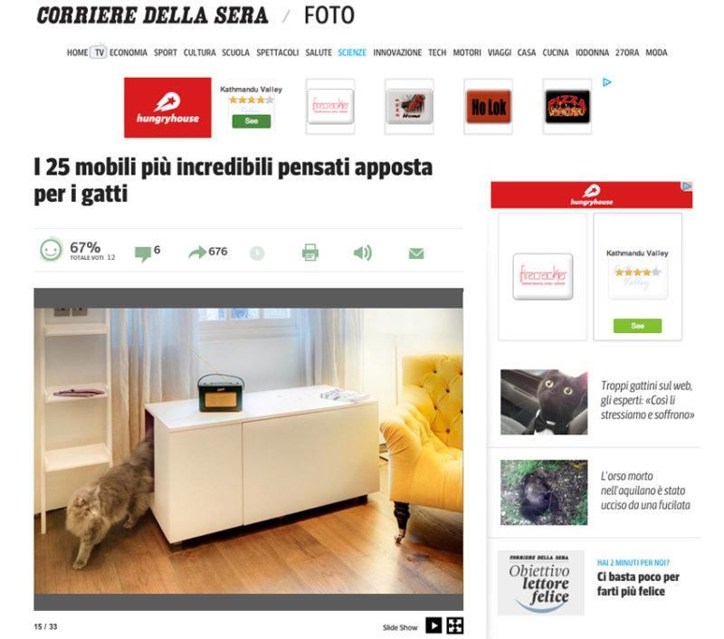 Catteux on Corriere della Sera