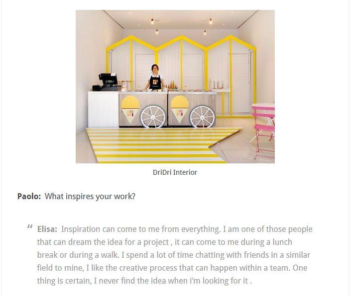 Italian Design Interview: Elisa Pardini