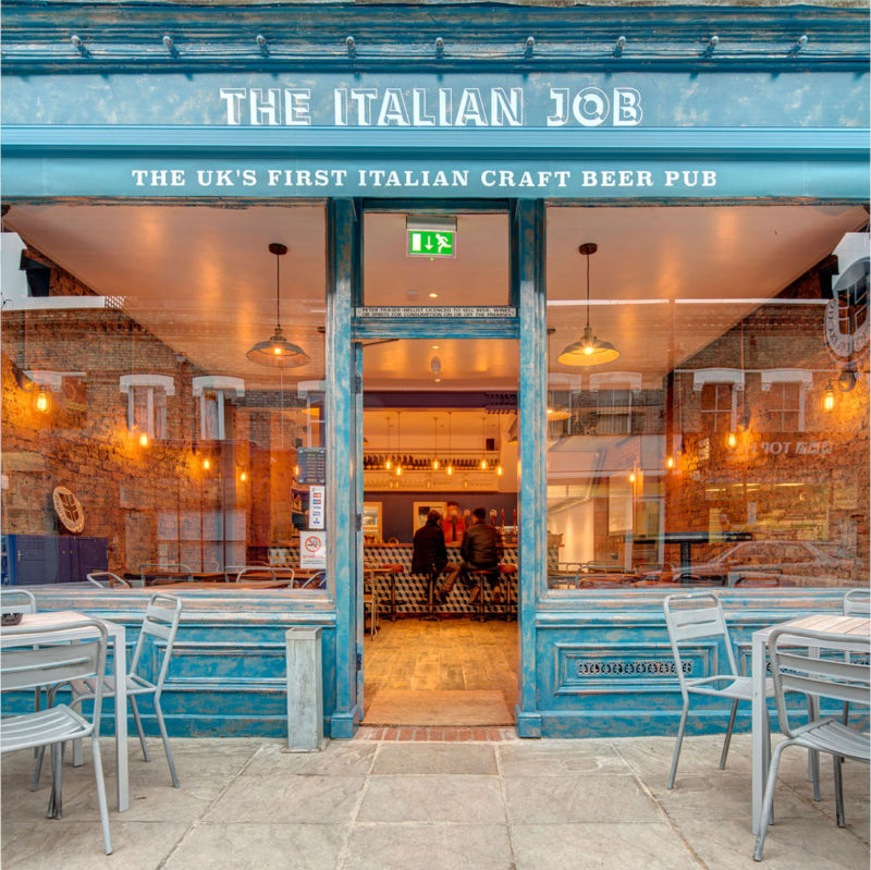 The Italian Job – Chiswick