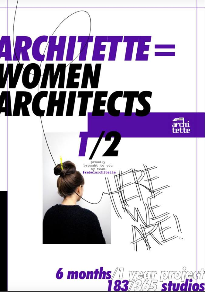 "Elisa Pardini featured in the book ""Architette = women architecs here we are!"""