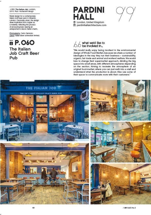 Pardini Hall architecture on IdN