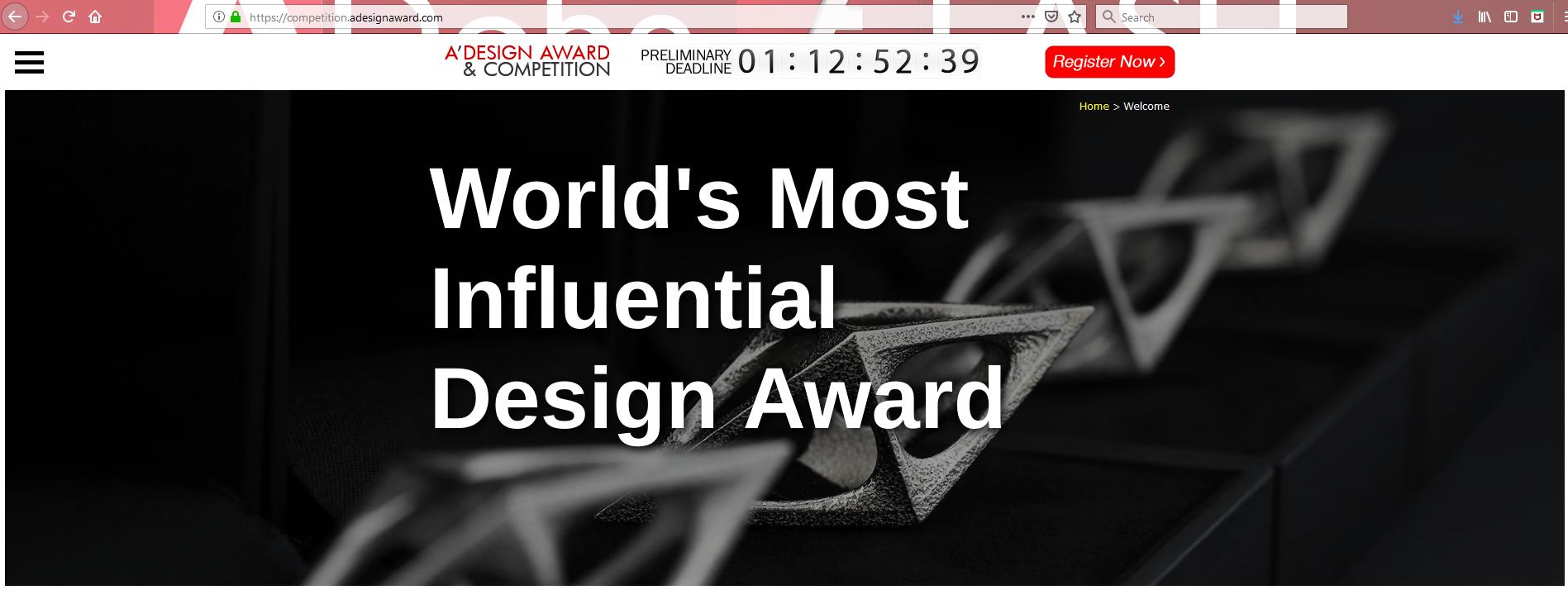 Pardini Hall selected as Jury Panel of A'Design Award