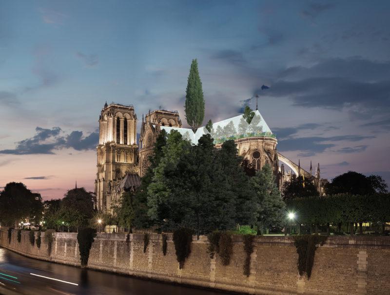 Notre Dame Spire Proposal