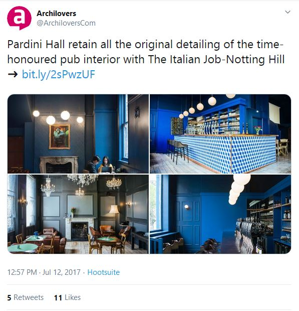 The Italian Job @ Nothing Hill on Archilovers