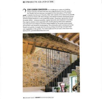 The Foxes in Grand Design Magazine