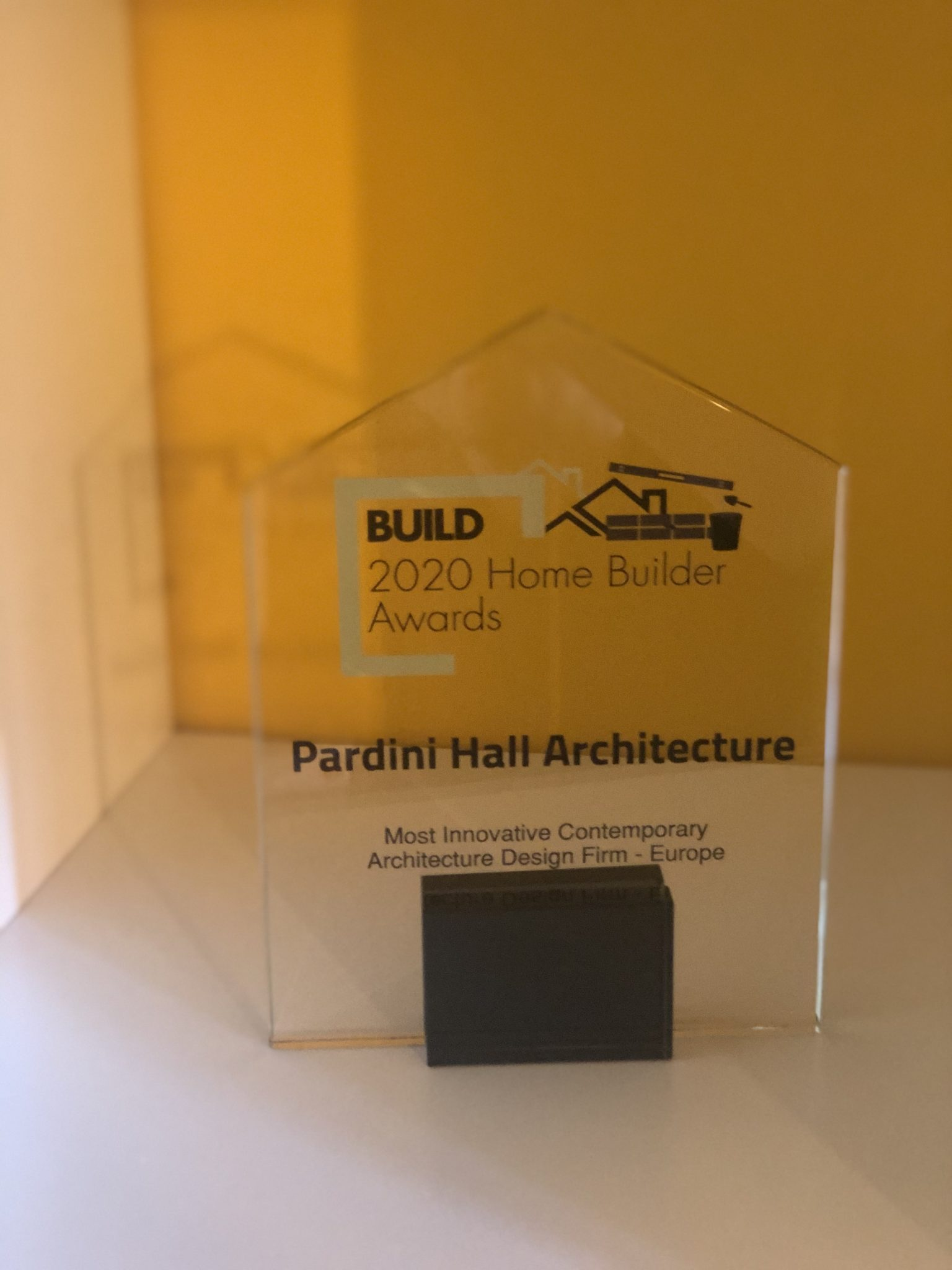 PHA wins the award from Build 2020