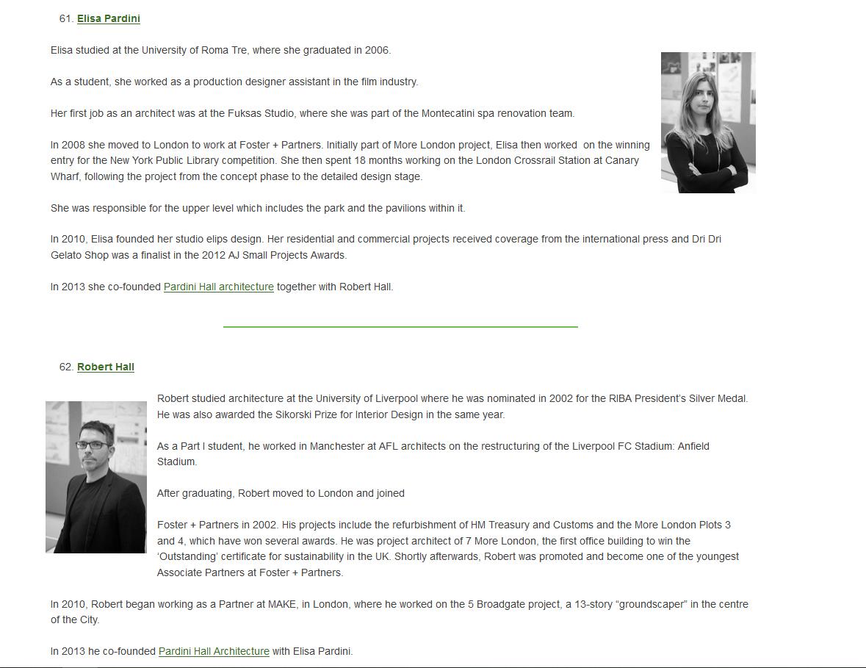 Green Design Professional List